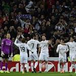 Real Madrid, Dortmund advance in Champions League