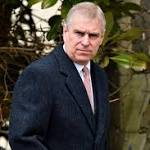 Judge throws out Prince Andrew 'sex slave' claims