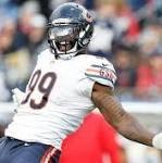 Bears DE Houston ruptured ACL celebrating sack