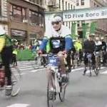 Five Boro Bike Tour brings thousands of cyclists to the streets