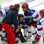 Worlds: Ovechkin injured; US beats Finland