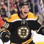 Bruins GM Don Sweeney isn't interested in trading David Pastrnak