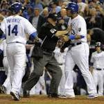 Royals tie up World Series with 7-2 win over Giants