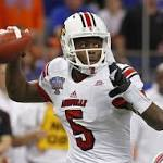 Louisville QB Teddy Bridgewater unimpressive in pro day showing