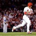 Cardinals defeat Dodgers, take 2-1 series lead