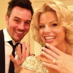 Megan Hilty And Brian Gallagher Skip Engagement With Spontaneous Vegas ...