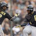 Giants blanked by Pirates for fifth consecutive loss