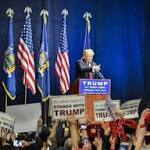 Donald Trump returns to NY for wild Long Island rally that brings out thousands of supporters