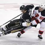 NHL Wrap: Fleury, Penguins shut out Devils