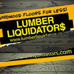 Timmberrrrr! Lumber Liquidators crashes