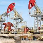 US oil settles down 45 cents, or 1.18 pct, at $37.84 a barrel