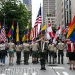The BOY SCOUTS Lead The Way In Several Pride Parades!