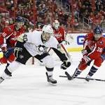 Capitals show some fight, handle rival Penguins, 4-0, to snap losing streak