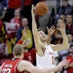 College basketball roundup: Trimble leads No. 16 Maryland