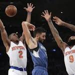 Knicks hold off Wolves 107-102 behind Anthony, Afflalo