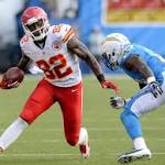 Chiefs snap Chargers' 5-game win streak on late kick