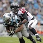 Falcons win kicking game, beat Panthers 19-17