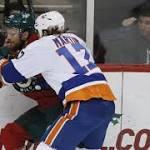 Wild rallies after Ballard injury to defeat Islanders