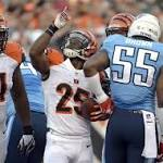 Titans Fail to Finish Drives Against Bengals
