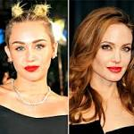 "Miley Cyrus Gets Naked in ""Wrecking Ball"" Video, Angelina Jolie Debuts New ..."