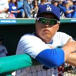 Hyun-Jin Ryu pitches well, Matt Kemp gets 2 RBIs in split games