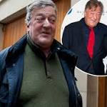 Stephen Fry's rocky love life: His 16 YEARS of celibacy, ex-boyfriends and new ...