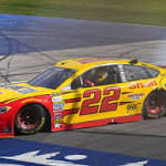 James: Joey Logano has spot-on day amid changes