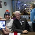 For the Clintons, New Hampshire is the state of 2nd chances