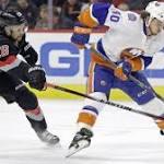 Power Play: Slow start dooms Hurricanes against Islanders