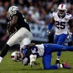 Raiders: Game grades for win over Bills