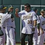A's pounded early, rally falls short against Orioles