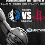 What To Watch For: Mavs at Rockets