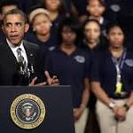 Obama to launch quest to lift African-American men