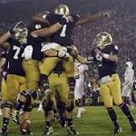 Notre Dame Football: 5 Best Moments for the Fighting Irish from Stanford Rivalry