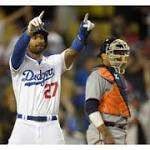 Kenley gives up HR in 10th; Dodgers lose to Tigers