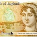 Jane Austen to Grace British 10-pound Notes. Our Nominees for US Currency ...