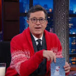 After A Year On The Job, Stephen Colbert Finds His Voice On 'The Late Show'