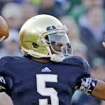 Notre Dame's Golson suspended