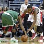 John Wall's late surge ends double OT thriller: Boston Celtics fall 133-132 to ...