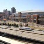 Planners announce open-air, riverfront NFL stadium.