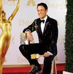 The Sitdown: Seth Meyers won't go jogging before the Emmys