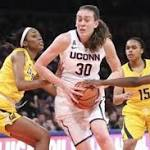 Women's college roundup: Top-ranked UConn beats Cal