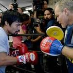 Freddie Roach: If Manny Pacquiao comes back, we want Floyd Mayweather rematch