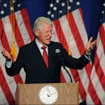 California visit: Bill Clinton says voting is cure for polarization