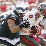 Buccaneers remains winless after losing 31-20 to Eagles