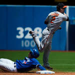 Blue Jays' home winning streak ends at 9 with loss to O's