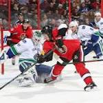 Sens rush back from three-goal deficit to force an OT win over Canucks