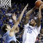 TOP 25: Kentucky survives scare from Columbia