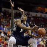 Cowboys edge Utah State in MWC Tourney opener, 67-65