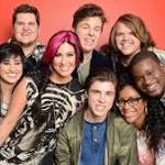 American Idol's Top 9 Sings with the Band